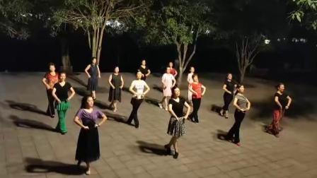 蒙古舞《美丽的蒙古高原》(大足滨河燕子舞蹈队学跳),龚燕老师2019.9.8手机随录