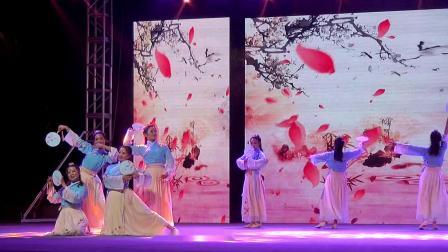 舞动潇湘2019广场舞大赛城市决赛益阳赛区舞味聚星中国舞班表演扇舞《知否,知否》