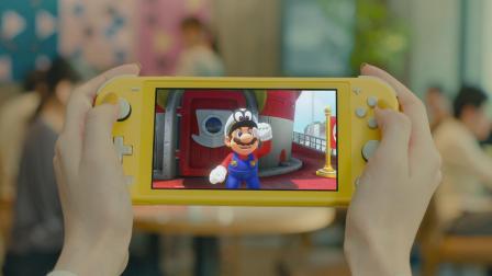 掌上专用Nintendo Switch Lite TVCM1