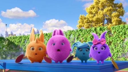 儿童视频阳光兔最快的兔子阳光兔儿童有趣视频
