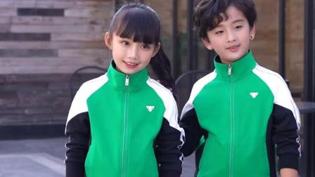 君晓天云亲子运动套装春秋男女中学生校服小学班服家庭装运动服定製印字