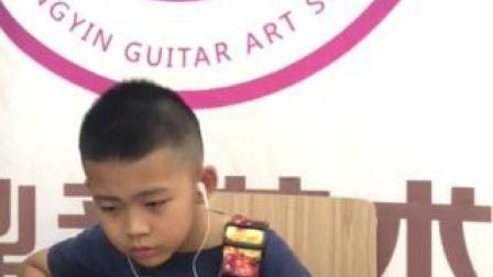 齐齐哈尔学吉他谁家好,鼎音吉他学校吉他培训班,学员张小川演奏视频