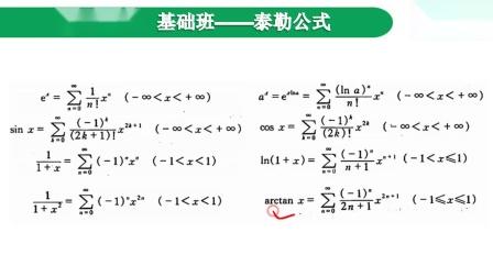 10【最透彻】泰勒公式及其运用【小元老师】