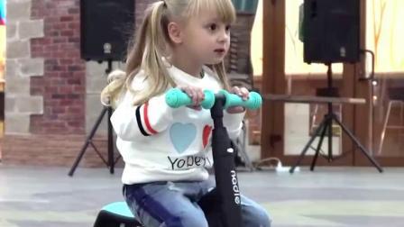 君晓天云脚踏板车儿童滑板车脚踩式通用专业小型男孩女孩女生大号男女多用
