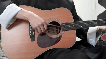 好久没更了 更个小段吧 当吉他拔掉品丝之后 无品吉他