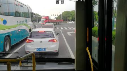 浦卫线公交车(W0B-360N)龙阳路浦东南路-石化汽车站全程(C)