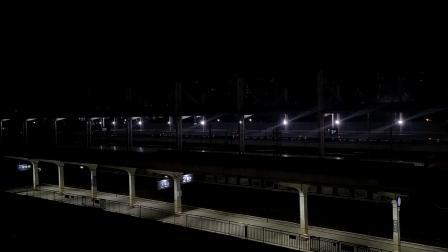G6244(深圳北—广州北)本务广铁广九段,搭载CRH380AL型车底,广州北站4站台进站