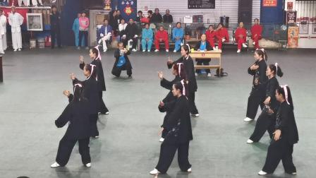 临汾市第五届运动会杨澄甫太极拳研究中心队代表队参赛