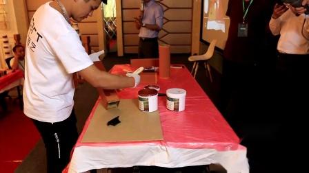 木纹漆施工怎么做?木纹漆施工教学视频解决问题