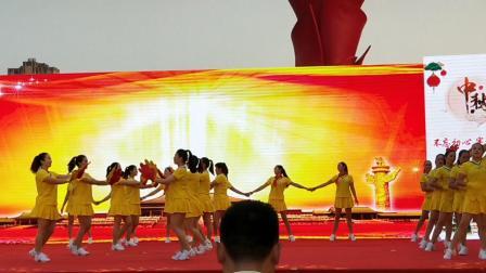 第二届邮储杯广场舞大赛叶集区参赛《中国中国》