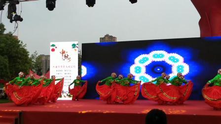 第二届邮储杯广场舞大赛舒城县参赛《火凤凰》