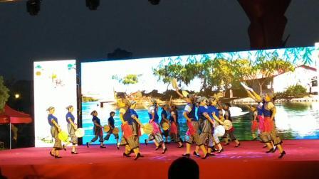 第二届邮储杯广场舞大赛霍邱县参赛《蒲扇摇过的夏天》