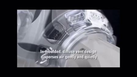 君晓天云瑞思迈呼吸机面罩原装进口梦幻FX鼻罩全脸睡眠呼吸机通用配件系列