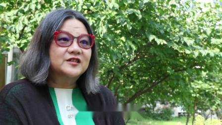 第六届中法环境月大使洪晃谈环保