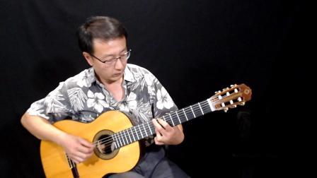 《月亮河》指弹吉它曲 陈鹏改编/演奏