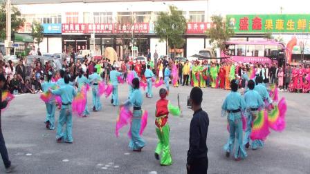 69-盘锦市沙岭镇广场舞展演孟家秧歌2019.9.12