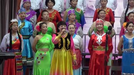 绥中镇兴隆社区国庆70华诞大合唱