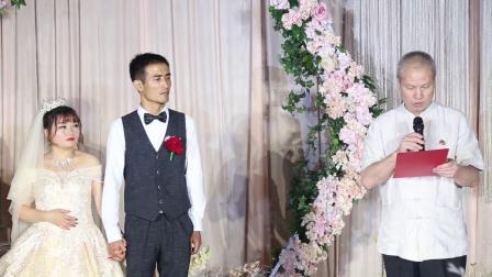 徐辰、王安鹂婚礼