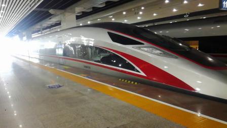 G78广州南站发车,G6110整装待发中