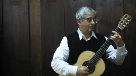 奧古斯丁•皮奧•巴里奧斯 : D大調為吉他所作的圓舞曲Op.8 No.4