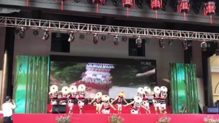 裕安区城区广场舞大赛二等奖《多彩云南》(皋城杜鹃艺术团参赛)