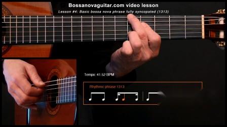 【爵士練習】吉他:BNG.4 - Basic Phrase Fully Syncopated, Só Danço Samba