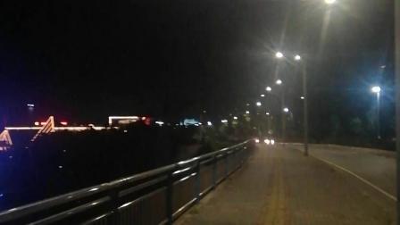 贵州省贵阳市龙洞堡国际机场一角夜景
