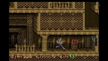 SFC SNES《古城救美:僵尸男爵诺斯费拉图》TAS游戏速通演示(16120)Nosferatu