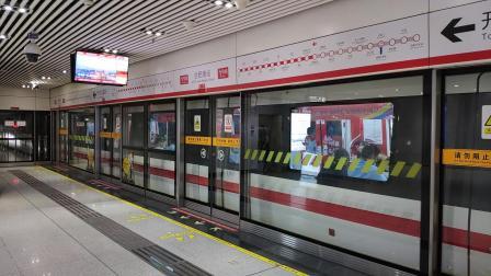 【合肥地铁】 1号线庞巴迪列车出站