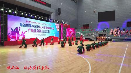 映山红~桃源县代表队广场舞