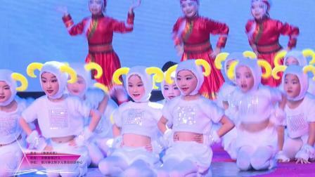 """2019""""小荷花""""宁夏地区银川静之舞少儿舞蹈培训中心《草原欢歌》"""
