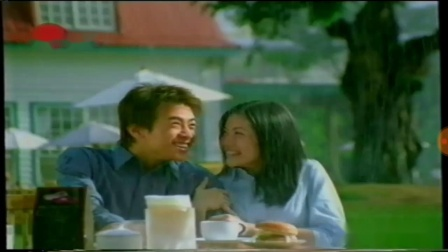 2002年4月上海东视音乐频道播出的广告