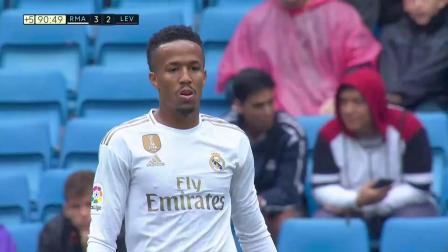 西甲4轮 皇家马德里3-2莱万特 第91分钟精彩看点