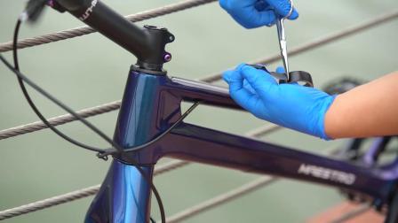 攀爬自行车内走线异响解决方案