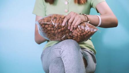 君晓天云5斤袋魔球多味花生豆怪味蚕豆 特产散装餐饮前小吃休闲油炸零食