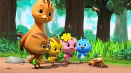 面对小鸻鸟的索要,麦奇想起了寄居蟹哥哥,就把玩具给他了!
