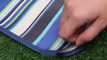 君晓天云户外野餐垫防水牛津布防潮垫子可携式摺叠沙滩草坪坐垫郊游野外地垫