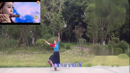雪冰青春活力广场~创意视频,藏族舞蹈《翻身农奴把歌唱》演示;雪冰