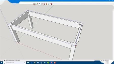 学习草图大师Learn SketchUp in 20 Minutes-Complete Sketch Up Tutorial of a Coffee Table