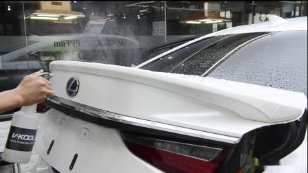 雷克萨斯 ES300h装贴威固V-KOOL V10 超亮系列隐形车衣【天津炫车地带】
