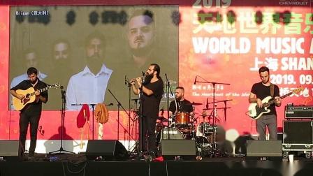【Strawberry Alice】雪佛兰2019天地世界音乐节:Brigan 意大利,2019-09-13 上海青浦区虹桥天地