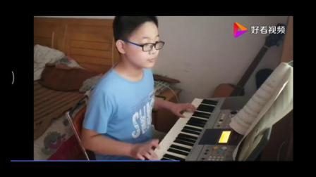 电子琴蓝猫淘气三千问主题曲地厚天高