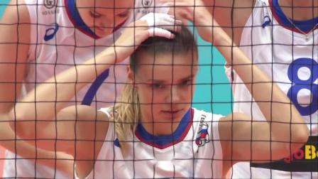 9月16日中国vs俄罗斯-女排世界杯第3轮全场