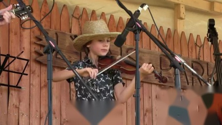 Maxwell Brown Becomes Lyons Fiddle Festival's Youngest Grand Champion Ever