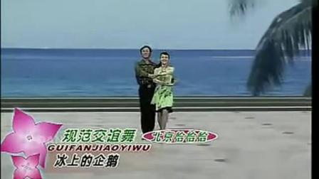 规范交谊舞 《北京恰恰 》杨艺老师跳的很流畅!