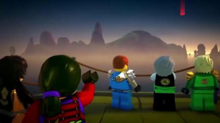 乐高幻影忍者:船上的每一个人都是无比的强大厉害