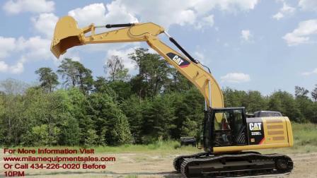 2012年卡特彼勒329EL挖掘机 -- E7153 -