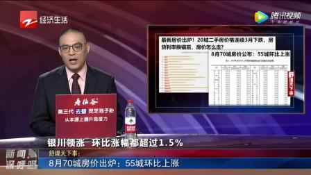 8月70城房价出炉:55城环比上涨