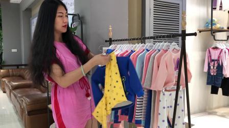 【中国·维正︎蓝狗家】加绒加厚家居服品牌折扣童装一手货源批发价格