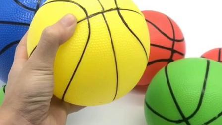 君晓天云儿童小皮球加厚小篮球充气弹力玩具球幼儿园专用拍拍球手抓球足球